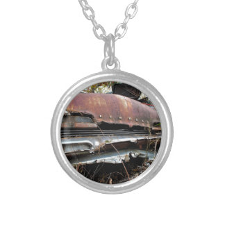 Obsolete Lincoln Silver Plated Necklace