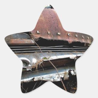 Obsolete Lincoln Star Sticker