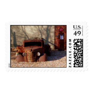 """""""Obsolete"""" Photography Postage Stamp"""