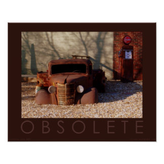 """""""Obsolete"""" Photography Poster"""