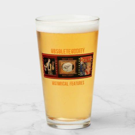 ObsoleteOddity Beer/Beverage Glass