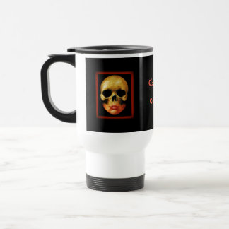 ObsoleteOddity Travel Mug - Double Skull