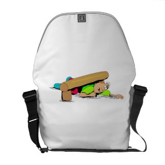 Obstacle Course Courier Bag