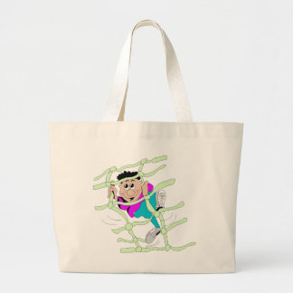 Obstacle Course Jumbo Tote Bag