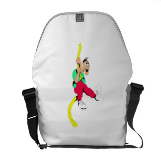 Obstacle Course Messenger Bags