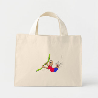 Obstacle Course Mini Tote Bag