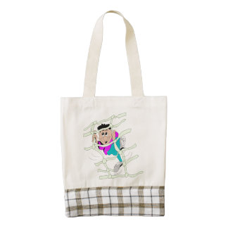Obstacle Course Zazzle HEART Tote Bag