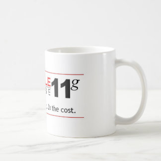 Obstacle Database 11g Coffee Mug