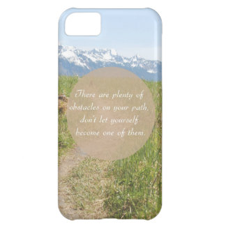 Obstacles iPhone 5C Cover