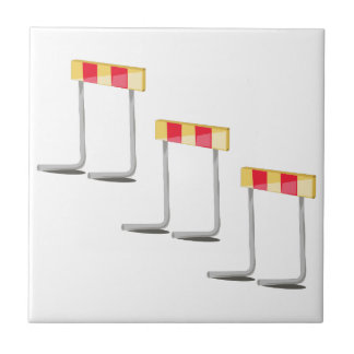 Obstáculos de la raza azulejo cuadrado pequeño