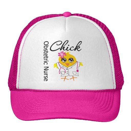 Obstetric Nurse Chick v2 Trucker Hats