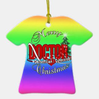 OBSTETRICIAN / GYNECOLOGIST CHRISTMAS DOCTOR CHRISTMAS ORNAMENTS