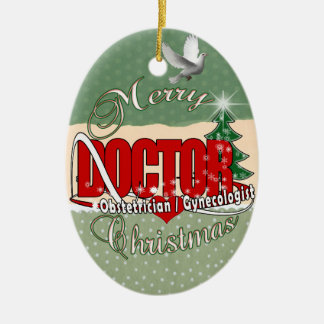 OBSTETRICIAN / GYNECOLOGIST CHRISTMAS DOCTOR ORNAMENT