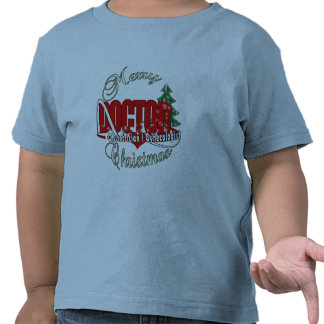 OBSTETRICIAN / GYNECOLOGIST CHRISTMAS DOCTOR T-SHIRTS