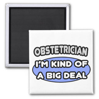 Obstetrician...Kind of a Big Deal Magnet