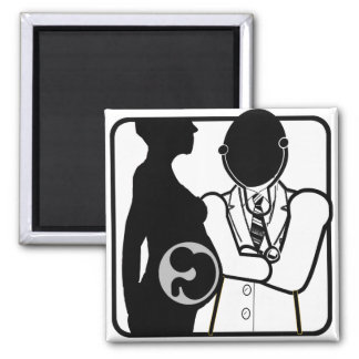 OBSTETRICIAN LOGO - WOMAN'S PERI AND POST NATAL DR MAGNET