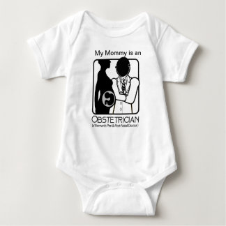 OBSTETRICIAN LOGO - WOMAN'S PERI AND POST NATAL DR T-SHIRT