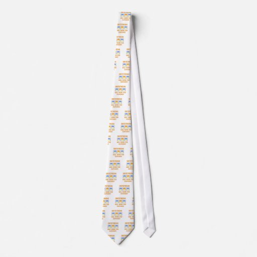 Obstetrician ... Will Work For Cupcakes Tie