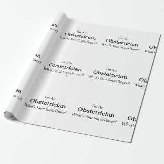 Obstetrician Wrapping Paper