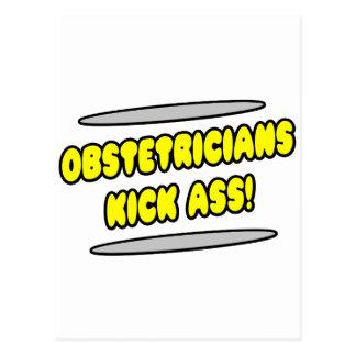 Obstetricians Kick Ass! Postcard