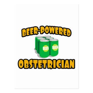 Obstétrico Cerveza-Accionado Postal