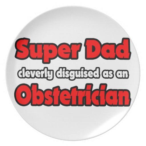 Obstétrico estupendo del papá… platos para fiestas