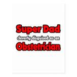 Obstétrico estupendo del papá… postales