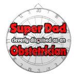 Obstétrico estupendo del papá… tabla dardos