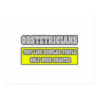 Obstétricos… mucho más elegantes tarjetas postales