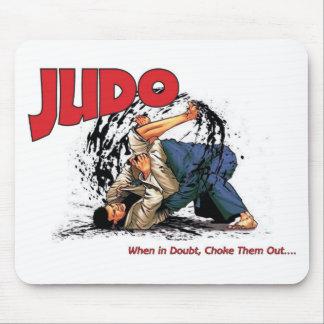 Obstrucción del judo hacia fuera alfombrilla de raton