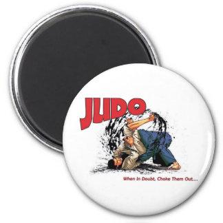 Obstrucción del judo hacia fuera imán redondo 5 cm