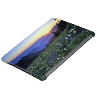 Obstruciton Point Sunset, Olympic NP, WA, USA iPad Air Case