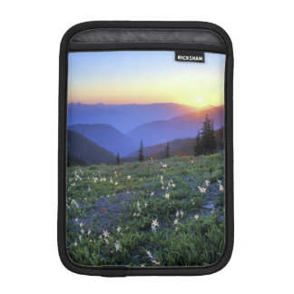 Obstruciton Point Sunset, Olympic NP, WA, USA iPad Mini Sleeves