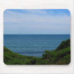 Obstructed Ocean View Mousepads