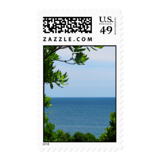 Obstructed Ocean View Postage Stamps