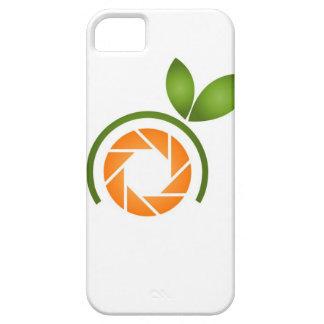 Obturador de la fotografía con las hojas verdes iPhone 5 cárcasas