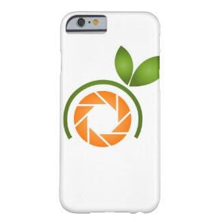 Obturador de la fotografía con las hojas verdes funda de iPhone 6 barely there