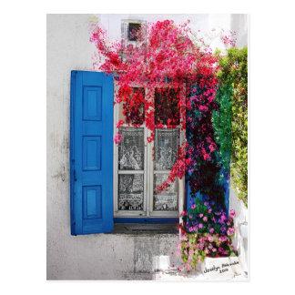 Obturadores azules postales