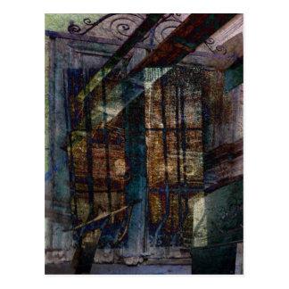 Obturadores, puertas y Windows cubistas Postal