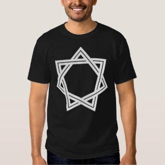 Obtuse Heptagram Men's Dark T-Shirt