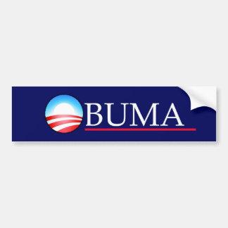 OBUMA CAR BUMPER STICKER