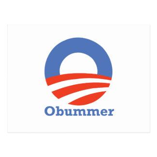 Obummer 2012 postcard