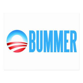 Obummer Anti Obama Postcard