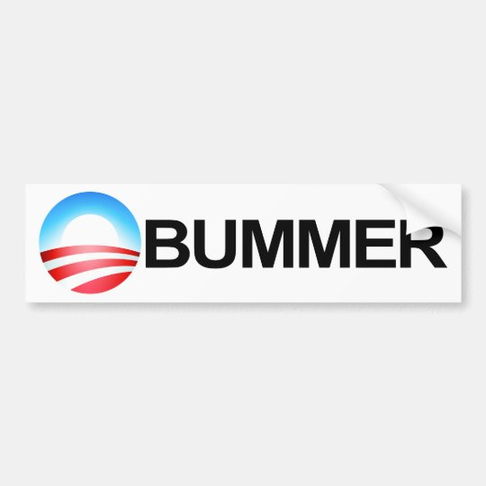 Obummer Bumper Sticker (HIGH QUALITY)