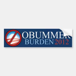 Obummer - Burden 2012 - Bumper Sticker