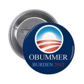 Obummer Burden 2012 Button