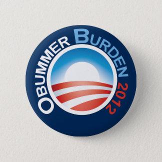 Obummer Burden 2012 Pinback Button