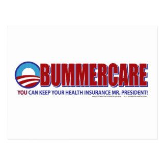 Obummer Care Postcard