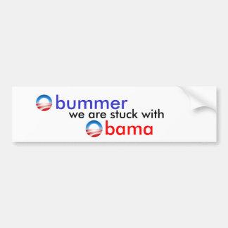 obummer obama car bumper sticker