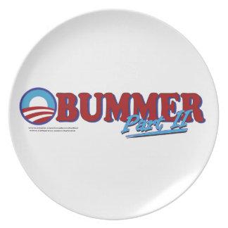 Obummer Part 2 Dinner Plate